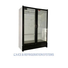 TORREY 28CF BEER SODA BEVERAGE GLASS DOOR REFRIGERATOR COOLER MERCHANDISER VRD28