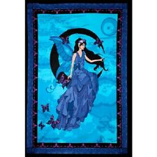 """Fairy Moon Tapestry 52 x 76"""" Wiccan Pagan Altar Supply Decor 57466"""