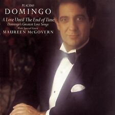 PLACIDO DOMINGO - A Love Until the End of Time w/Maureen McGovern (CBS 1988) LP