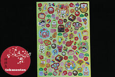 AUTOCOLLANT JAPONAIS STICKERS JAPAN MANEKI NEKO DAIKIJI DARUMA TRADITIONAL