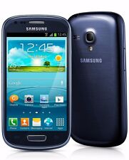 Samsung Galaxy S3 Mini Blue 8GB SM-G730A GSM UNLOCKED 4G LTE Android Smartphone