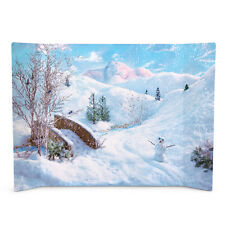 American Girl Winter Fun Snow Scene Background Backdrop For 18 Inch Dolls NRFB