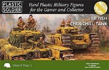 15MM british churchill tank-plastic soldier company WW2 -