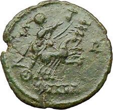 CONSTANTINE I 337AD Heaven CHARIOT Horse Ancient Roman Coin God  Hand  i29737
