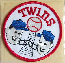1972 MINNESOTA TWINS Willabee & Ward LOST TREASURES OF BASEBALL TEAM LOGO PATCH