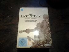 The LAST STORY WII LIMITED EDITION NUOVO