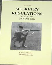 Musketry Regulations - Lee Enfield, 303 British