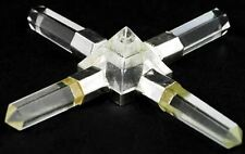 Clear Quartz Crystal Pyramid Energy Generator Powerful Healing Charging Power