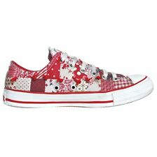 CONVERSE ALL STAR CHUCKS EU 38 UK 5,5 ARTIST #90 ROT RED EDITION PATCHWORK