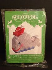 New Canvas Carousel pre-cut pop-out plastic shapes - Whale Tape Dispenser Cover
