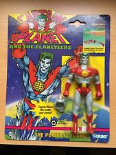 VINTAGE rare Captain Planet 1991 Action figure toy - SEALED with RING