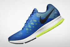NIKE Air Zoom PEGASUS + 31 Mens Blue White UK 12 Eu 47.5 Running Fitsole Gym