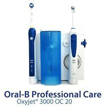 Braun Oral-B Professional Care Oxyjet+3000 Irrigator Rechargeable Electric Tool