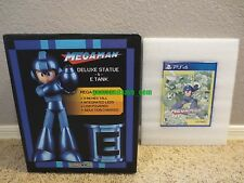 Mega Man Statue & E-Tank Legacy Collection PS4 PlayStation 4 Collector's Edition