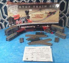 Feldstein Locomotive Legends USA Desktop Diecast SteamEngine Train Set complete