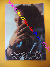 CARTOLINA PROMOZIONALE POSTCARD VASCO ROSSI Rock roll10x15cm no*cd dvd lp mc vhs