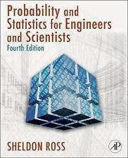 Introduction to Probability & Statistics for Engineers & Scientists 4th Int'l Ed
