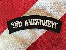 2nd Amendment Small Rocker Patch