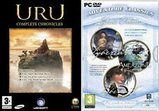 uru complete chronicles & syberia 1&2 plus amerzone