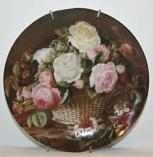 Fragrance Collection Shabby Cottage Chic Roses Paris Apt Plate wall hanging 1