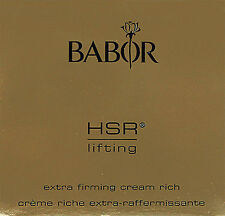 Babor HSR Lifting Cream Rich 15ml Travel Size Brand New