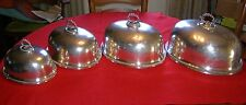 Elkington Silver Food Dome Set of Four, dated 1883, Beautiful Condition