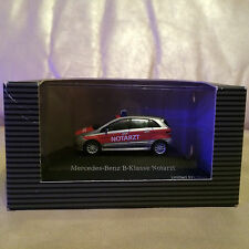 Mercedes Benz HO 1/87 Scale Limited Edition B-Klasse Notarzt Emergency Vehicle