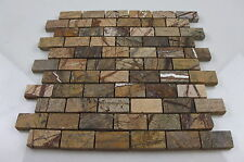 Rainforest Brown Mosaic ( Sample ) for Bathroom  Kitchen Polished