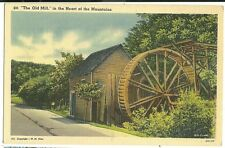 Old Mill in the Mountains TN Tennessee Postcard