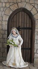 12th scale porcelain doll dressed as The lady of The lake  by Rycote miniatures.