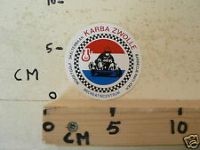 STICKER,DECAL KARBA BAAN ZWOLLE KARTS, SKELTERS