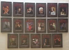 Dark Shadows Lot 17 DVD's Vampire Collections 1 - 17 Original Series Gothic