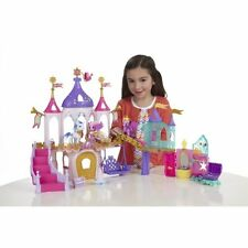 My Little Pony Princess Palace Playset Crystal Castle Sparkle Magic Hasbro New