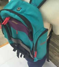 Nike Backpack 6.0 Bag Rare Teal Red Purple Hard to Find Luggage Storage