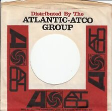 Company Sleeve 45 Atlantic / Atco - White/Red W/ Black/Red Writing And Address