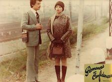 ORNELLA MUTI MICHELE PLACIDO ROMANZO POPOLARE 1974 VINTAGE PHOTO ORIGINAL #2