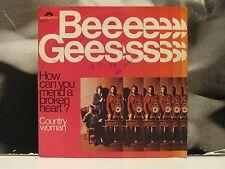 """BEE GEES - HOW CAN YOU MEND A BROKEN HEART 45 GIRI 7"""" VG/VG+ ITALY 1971"""