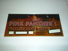 Original Pink Panther in Ancient Egypt Slot Machine Glass 2001 Nice Graphics