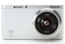 Samsung NX Mini Smart Camera with 9-27mm Lens (White) + SD Card -Fedex USA