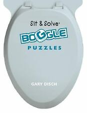 Sit & Solve® BOGGLE Puzzles (Sit & Solve® Series) Disch, Gary Paperback