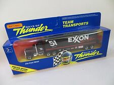MATCHBOX CONVOY Kenworth Racing Team Transporter EXXON 'DAYS OF THUNDER' MIB