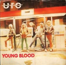 """UFO young bloodlights out CHS 2399 uk chrysalis 7"""" PS VG/VG"""