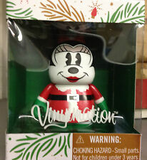 """Santa Minnie Mouse 2013 Holiday Christmas 3"""" Vinylmation Claus Mickey Merry"""