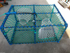 Commercial Style Lobster Pot - Brand New - 2 Entrances - Posts Worldwide