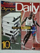 1996 Sports Illustrated Olympic Daily Program Day 10 The Bomb Blast 151132