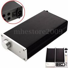 Full Aluminum Amplifier Enclosure Case Preamp Box PSU Chassis DIY (210x114x50mm)