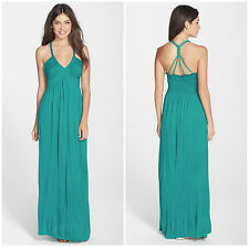 FELICITY & COCO  BRAIDED  STRAP  MAXI  DRESS   Sz M   Nordstrom    NEW   $ 94