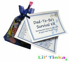 DAD TO BE/NEW DADDY SURVIVAL KIT- LARGE 15 ITEMS- PREMIUM BABY SHOWER PRESENT!!