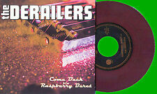 """THE DERAILERS - RASPBERRY BERET (PRINCE SONG)  - 7"""" RED VINYL + PICTURE SLEEVE"""