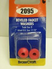 """Brass Craft BEVELED FAUCET WASHERS, TRADE SIZE: 0, O.D. 17/32"""", RED, SC2095"""